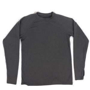 Men's Columbia Omni Dry Long Sleeved Grey Shirt